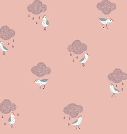 Katia Katia Fabrics Waterproof birds in the rain 87