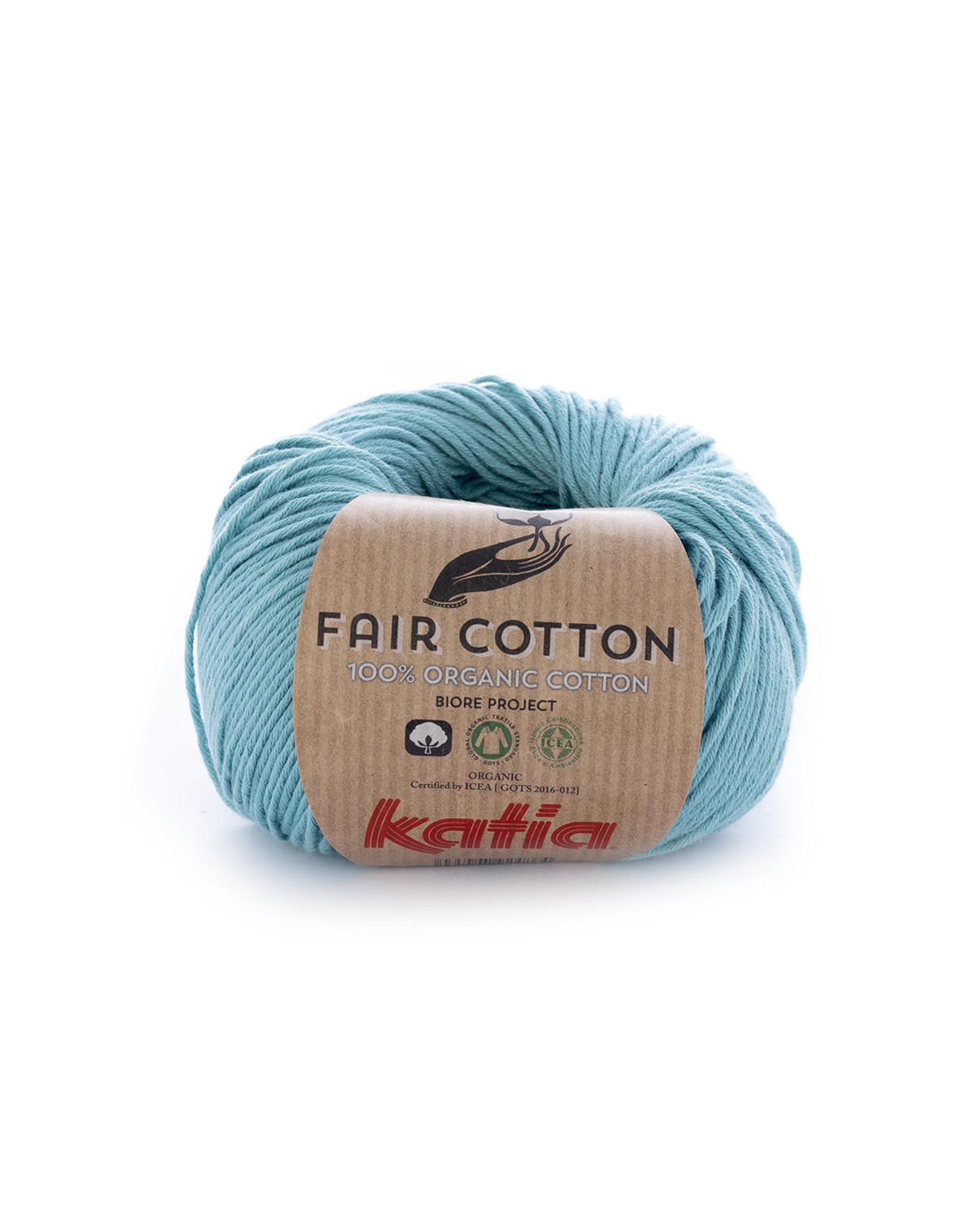 Katia Katia fair cotton 16 turquoise