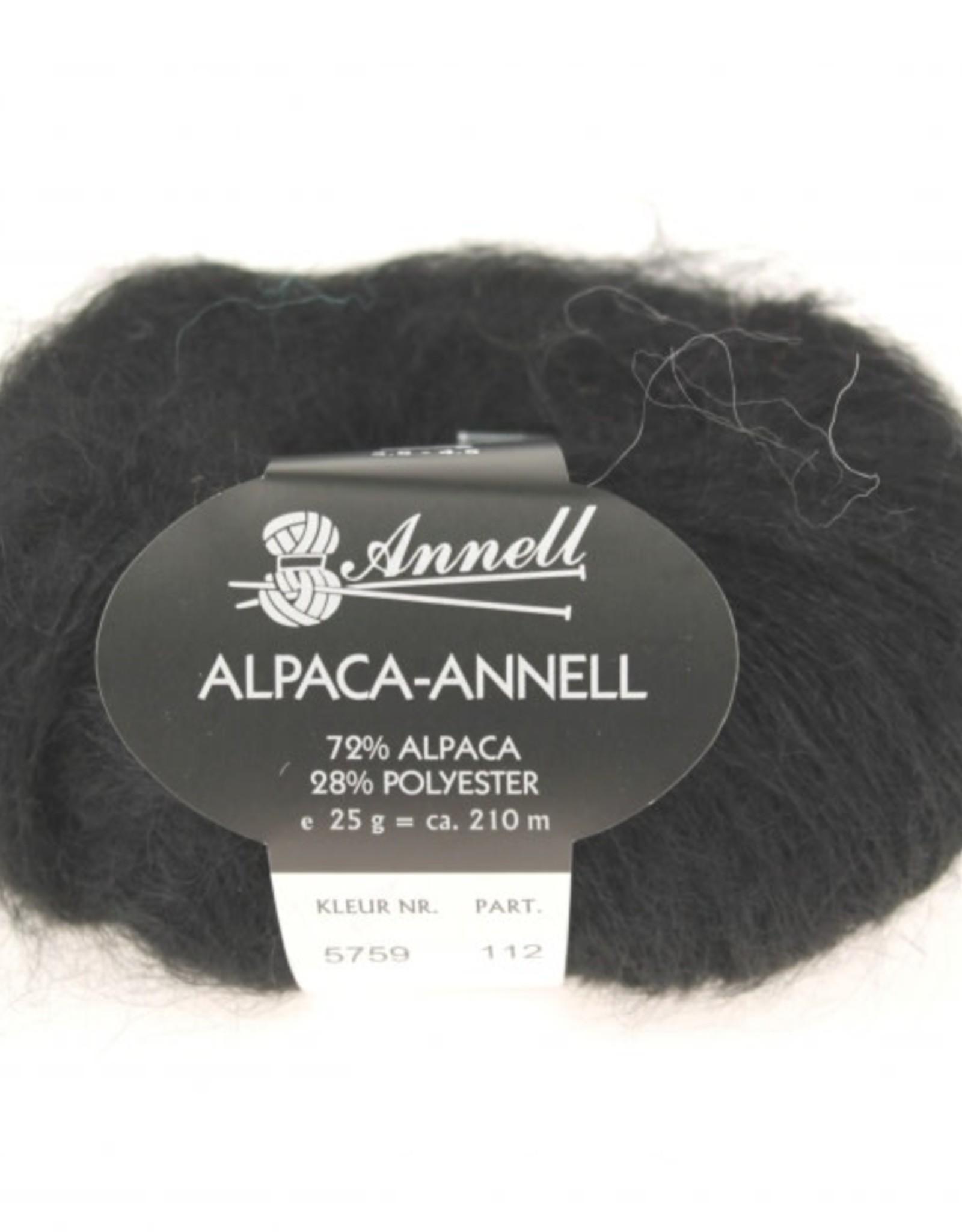 Annell Annell Alpaca Annell 5759 – ZWART