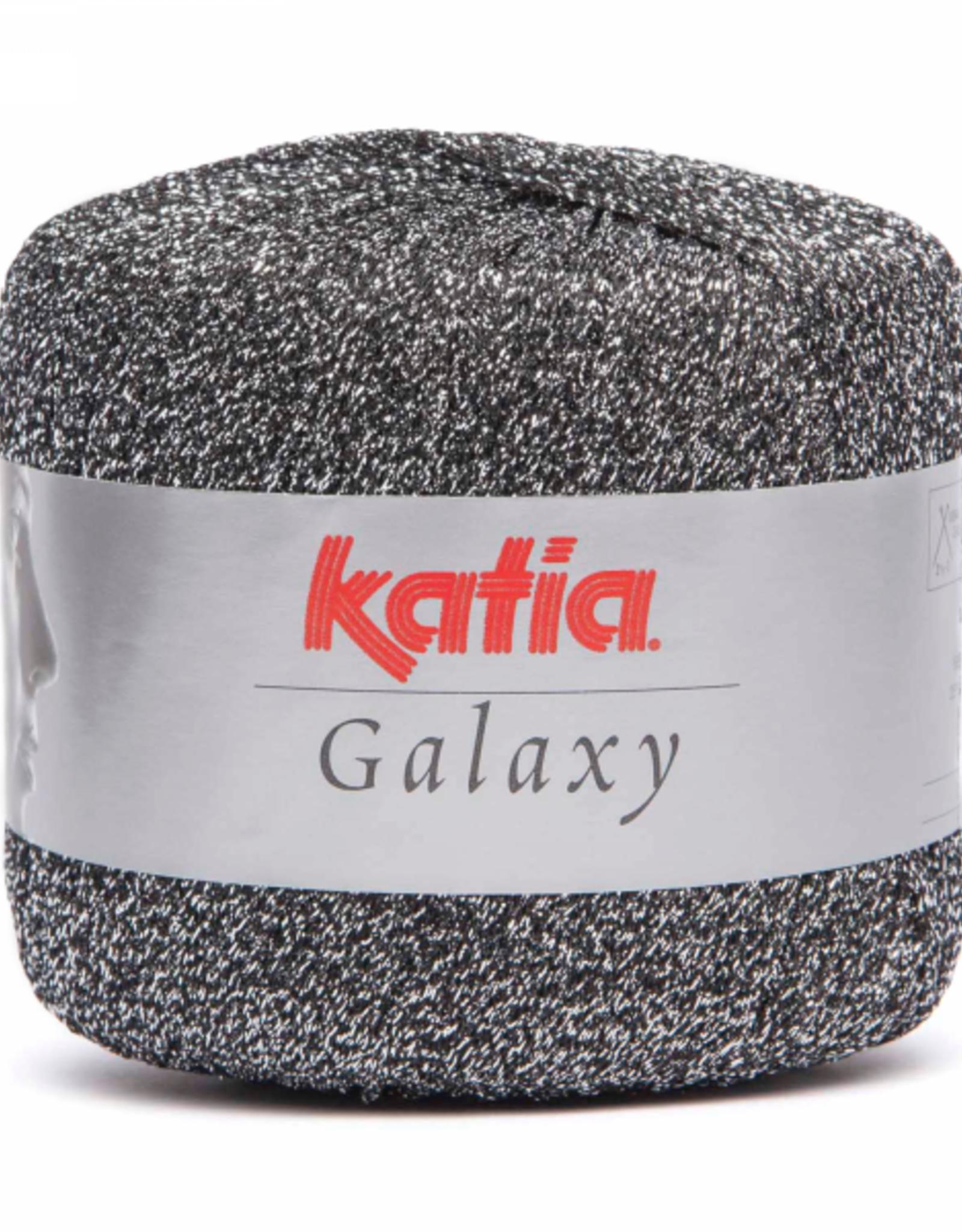 Katia Katia Galaxy 13 zilver met zwart