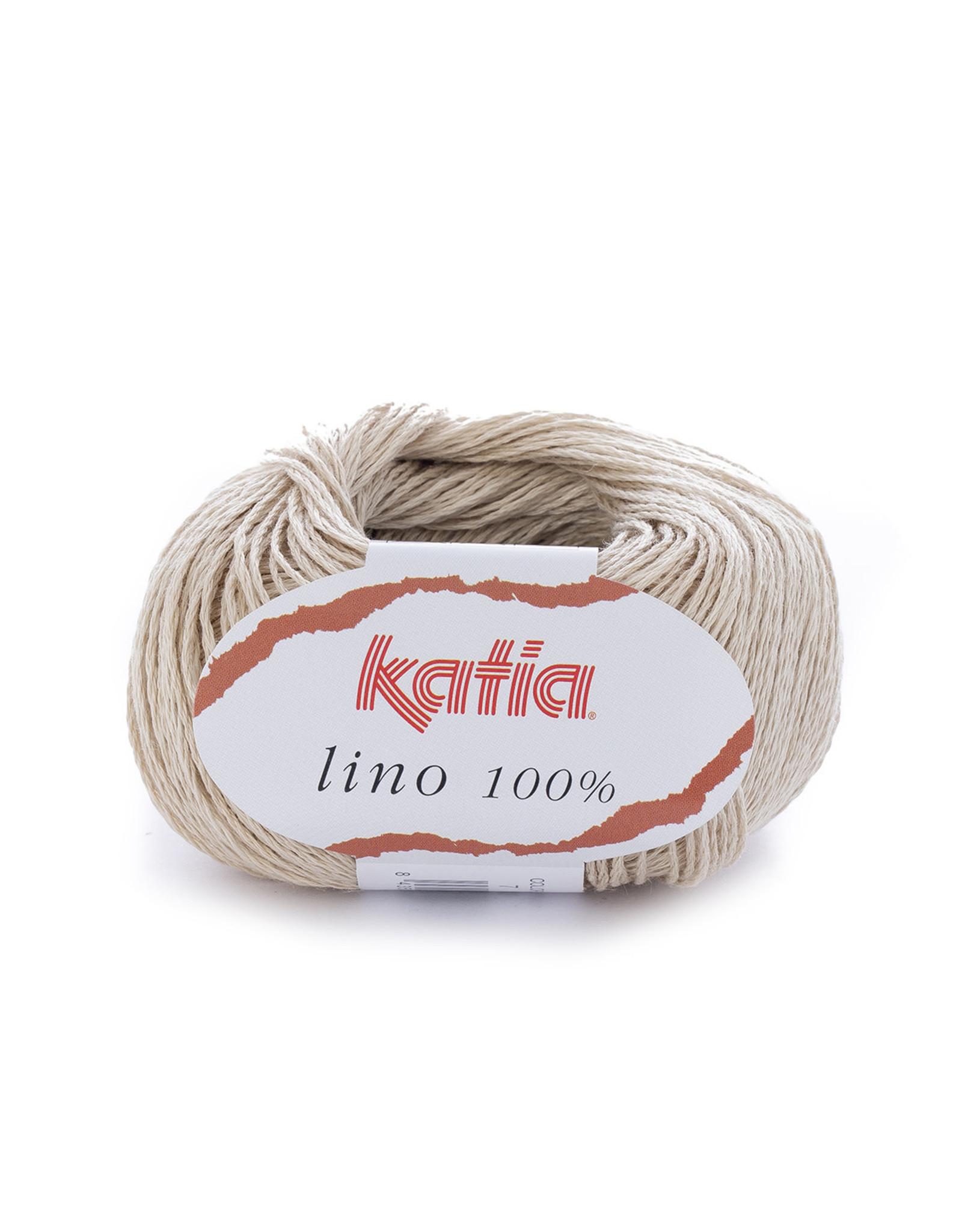 Katia Katia Lino 100% 7 licht beige