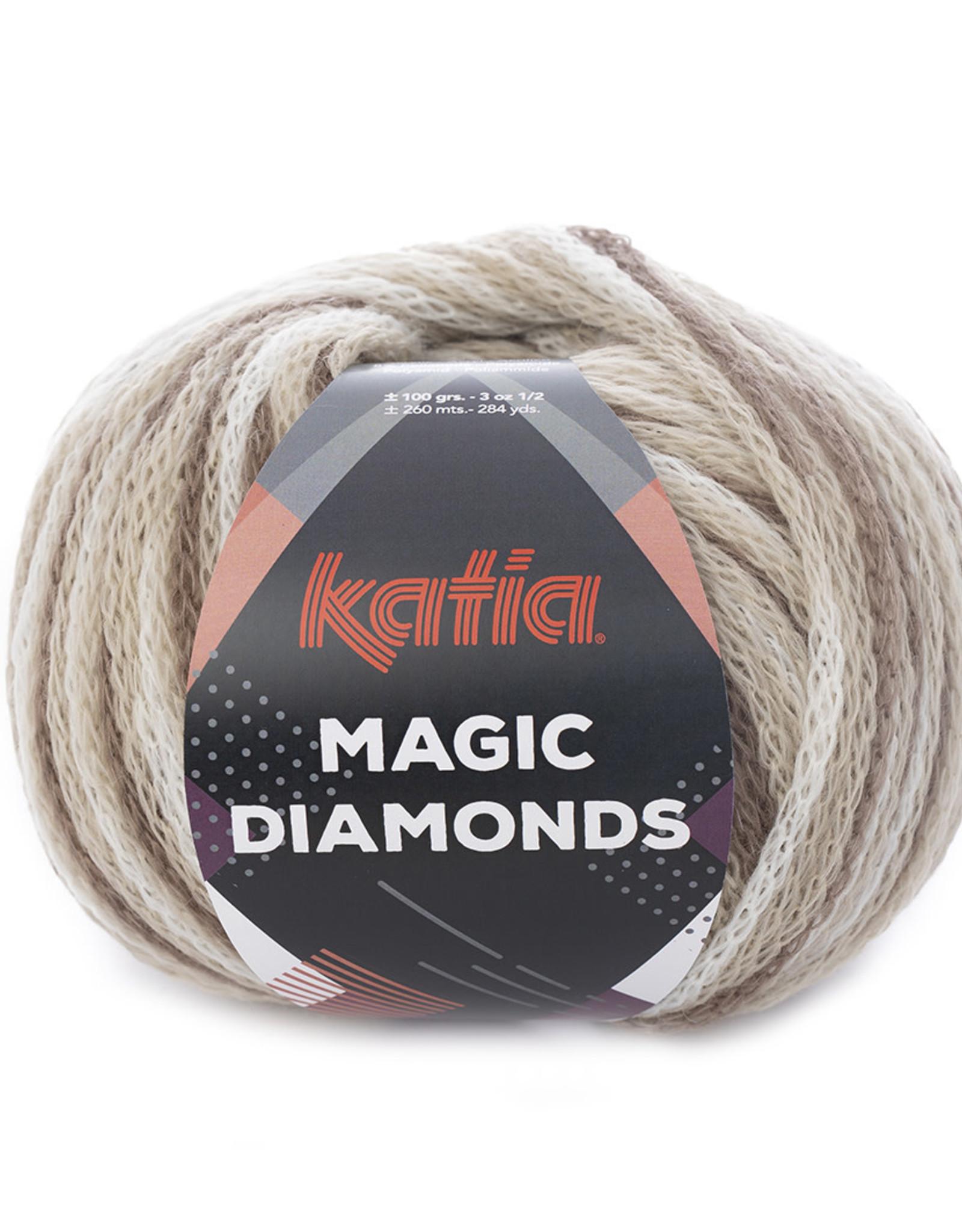 Katia Katia Magic Diamonds 50 bruin-ecru