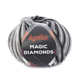 Katia Katia Magic Diamonds 51 zwart-grijs-wit