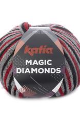 Katia Katia Magic Diamonds 53 rood- grijs- zwart