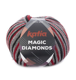 Katia Katia Magic Diamonds 53 rood- grijs- zwart