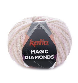 Katia Katia Magic Diamonds 54 bleekrood - ecru - beige