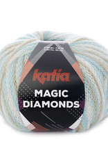 Katia Katia Magic Diamonds 55 hemelsblauw - ecru - beige