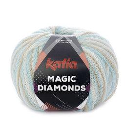 Katia Katia Magic Diamonds 55 hemelsblauw - ecru - beige