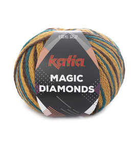 Katia Katia Magic Diamonds 56 groenblauw-oker-bruin