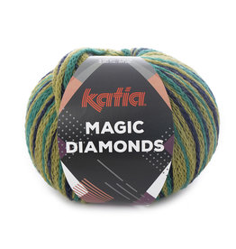 Katia Katia Magic Diamonds 57 groen - donkerblauw