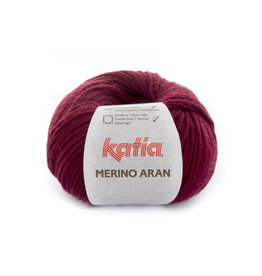 Katia Katia Merino aran 23 donker wijnrood