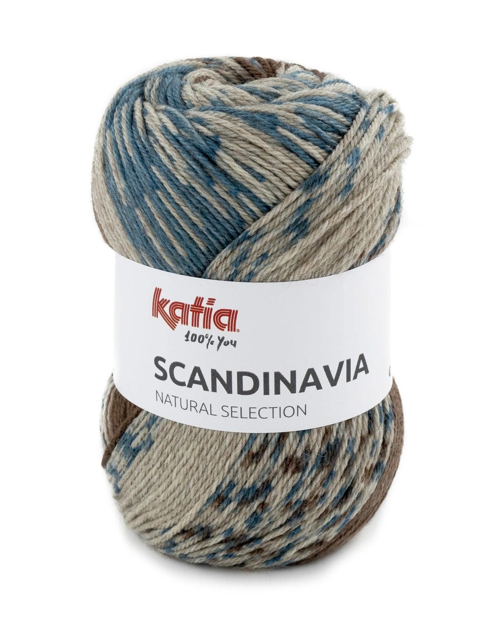 Katia Katia scandinavia 202 - Groenblauw-Bruin