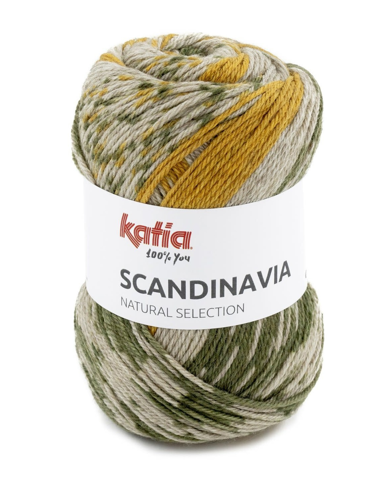 Katia Katia scandinavia 206 - Groen-Geel