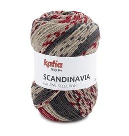 Katia Katia scandinavia 207 - Rood-Antracietgrijs