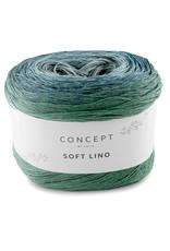 Katia Katia Soft Lino 601 - Blauw-Groenblauw