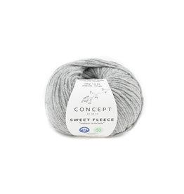 Katia Katia Sweet Fleece 72 - Licht grijs