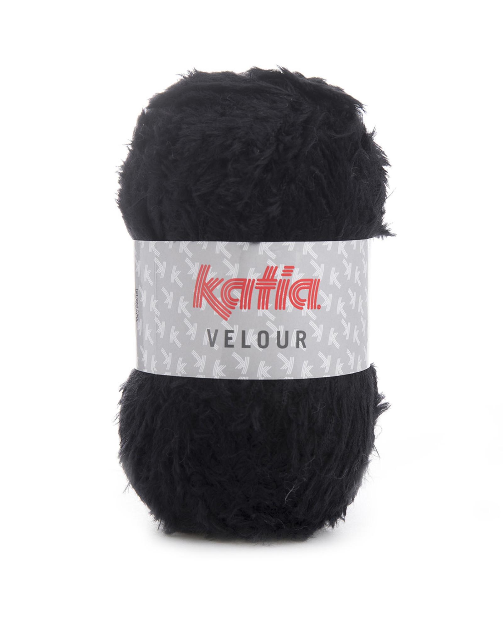 Katia Katia Velour 58 Zwart