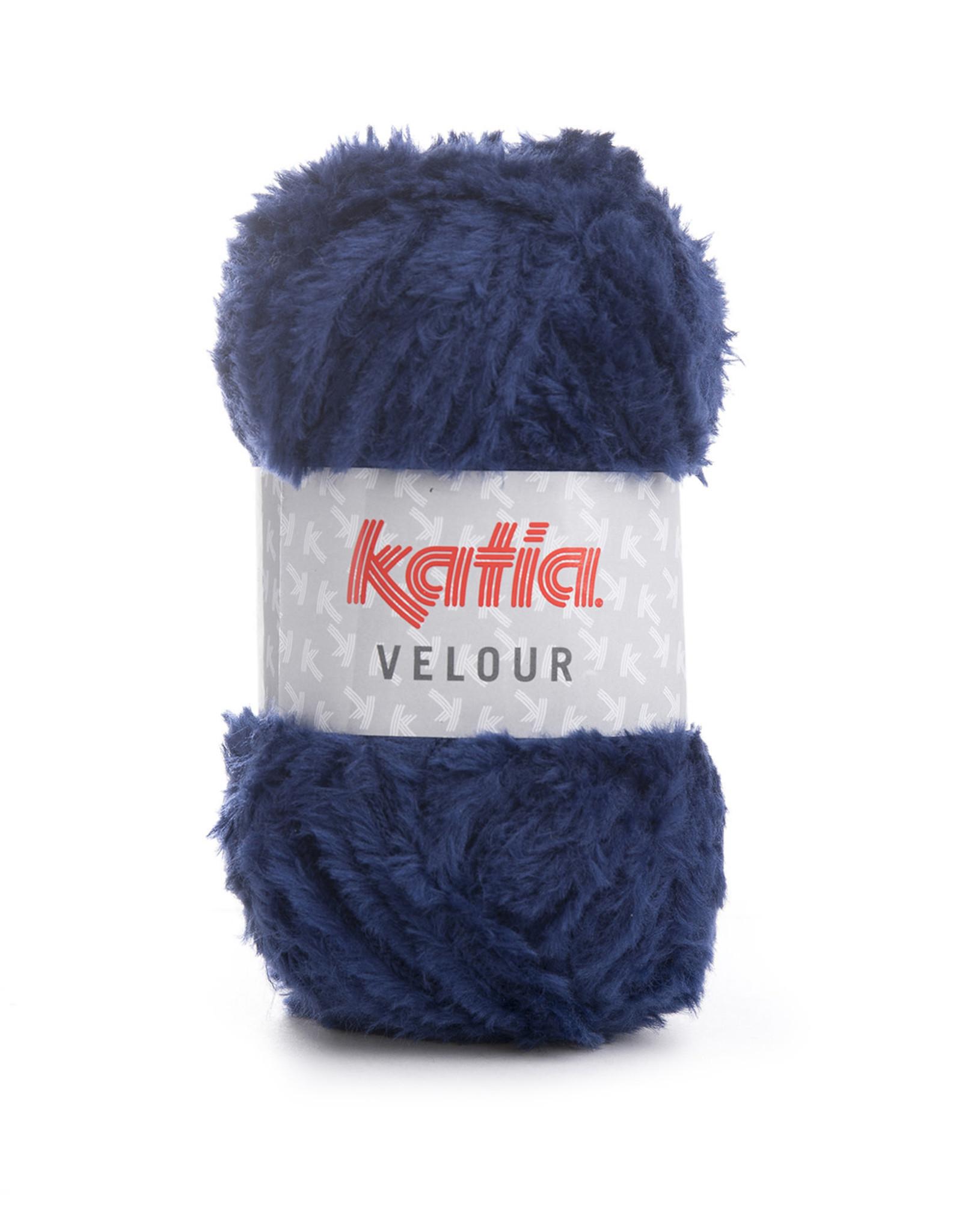 Katia Katia Velour 73 donkerblauw