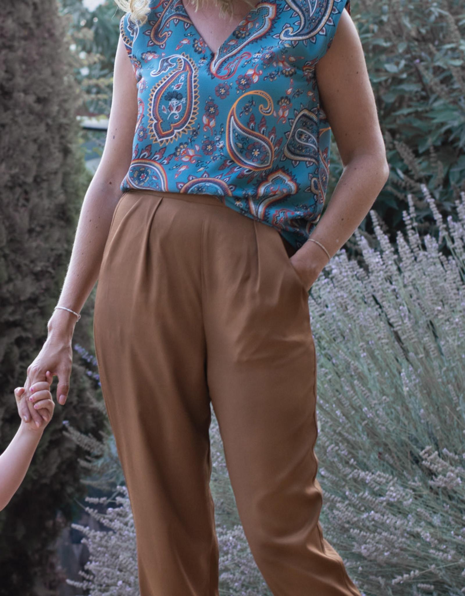 Bel ' Etoile Bel' Etoile papieren patroon Nia top en broek voor dames & tieners