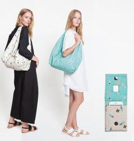 Katia Katia Fabrics patroon  tas en hoes telefoonoplader A4