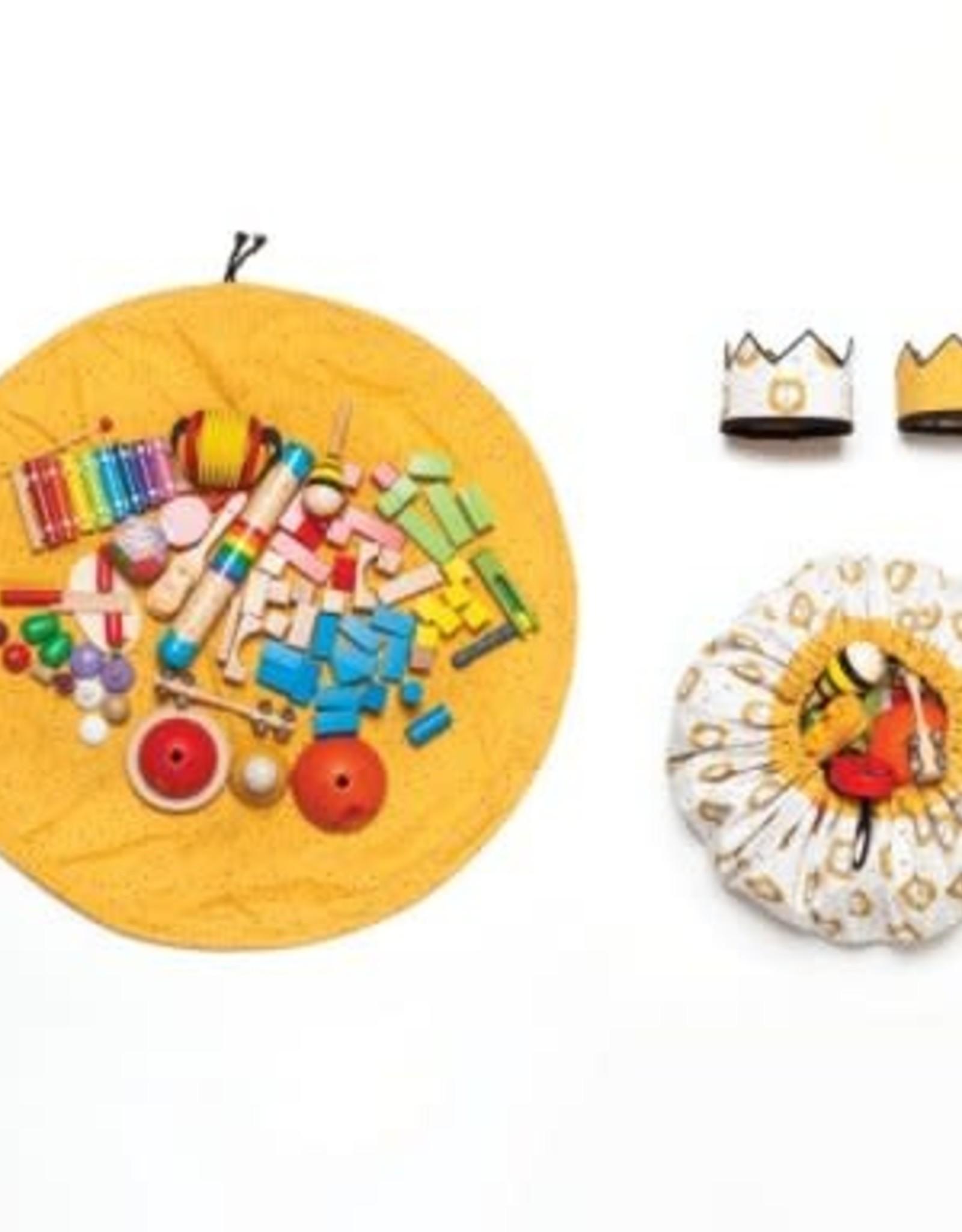 Katia Katia Fabrics patroon tas/speelmat en kroon BA7