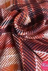 Bittoun Bittoun  ruiten katoen/polyester ossi blouse