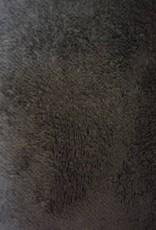 Bittoun Bittoun zwart teddy, binnenkant fijne ruitjes