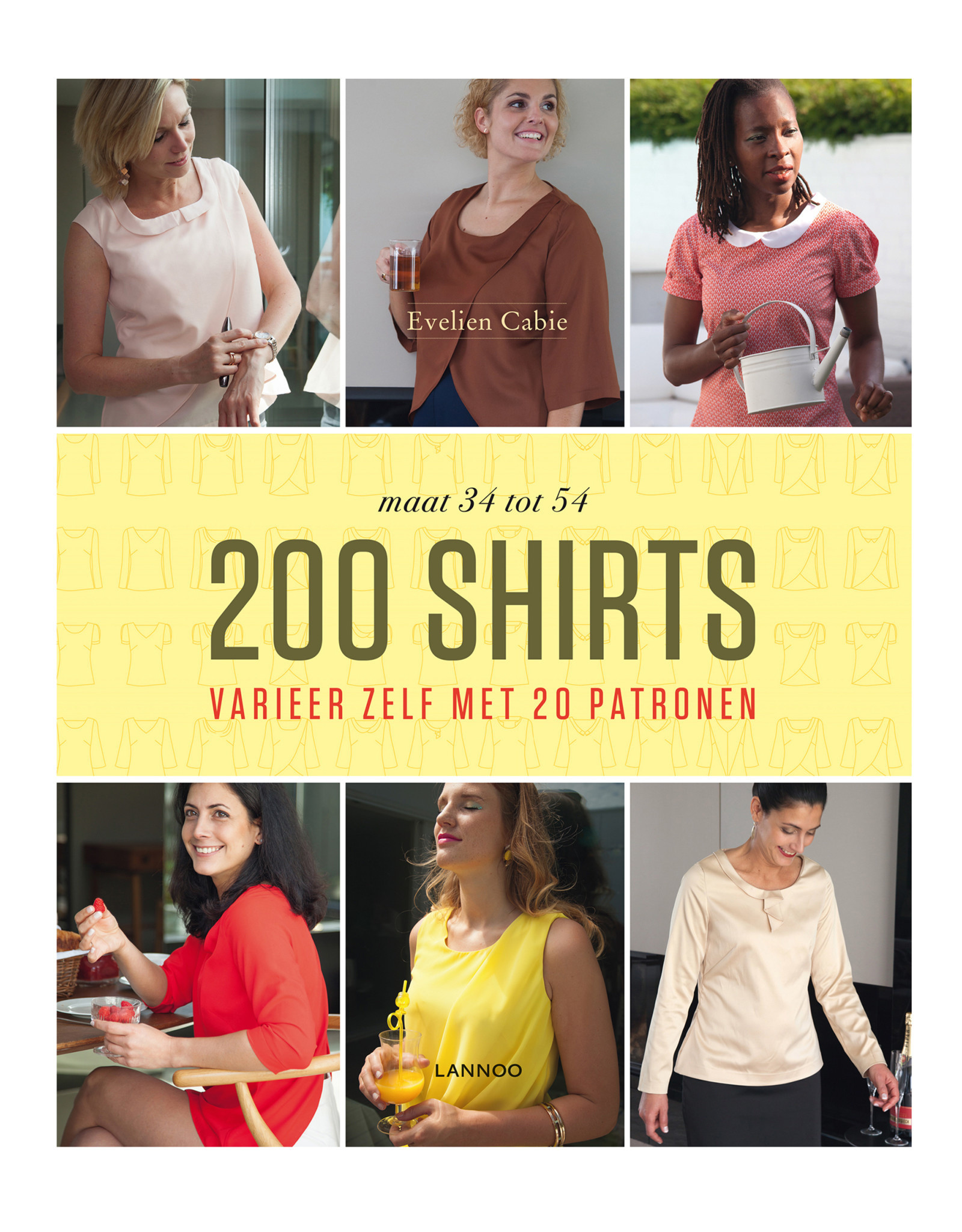 Copy of Boek 200 jurken Evelien Cabie