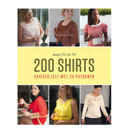 Boek 200 shirts Evelien Cabie