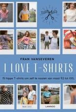 Boek I love Shirts Fran Van Severen