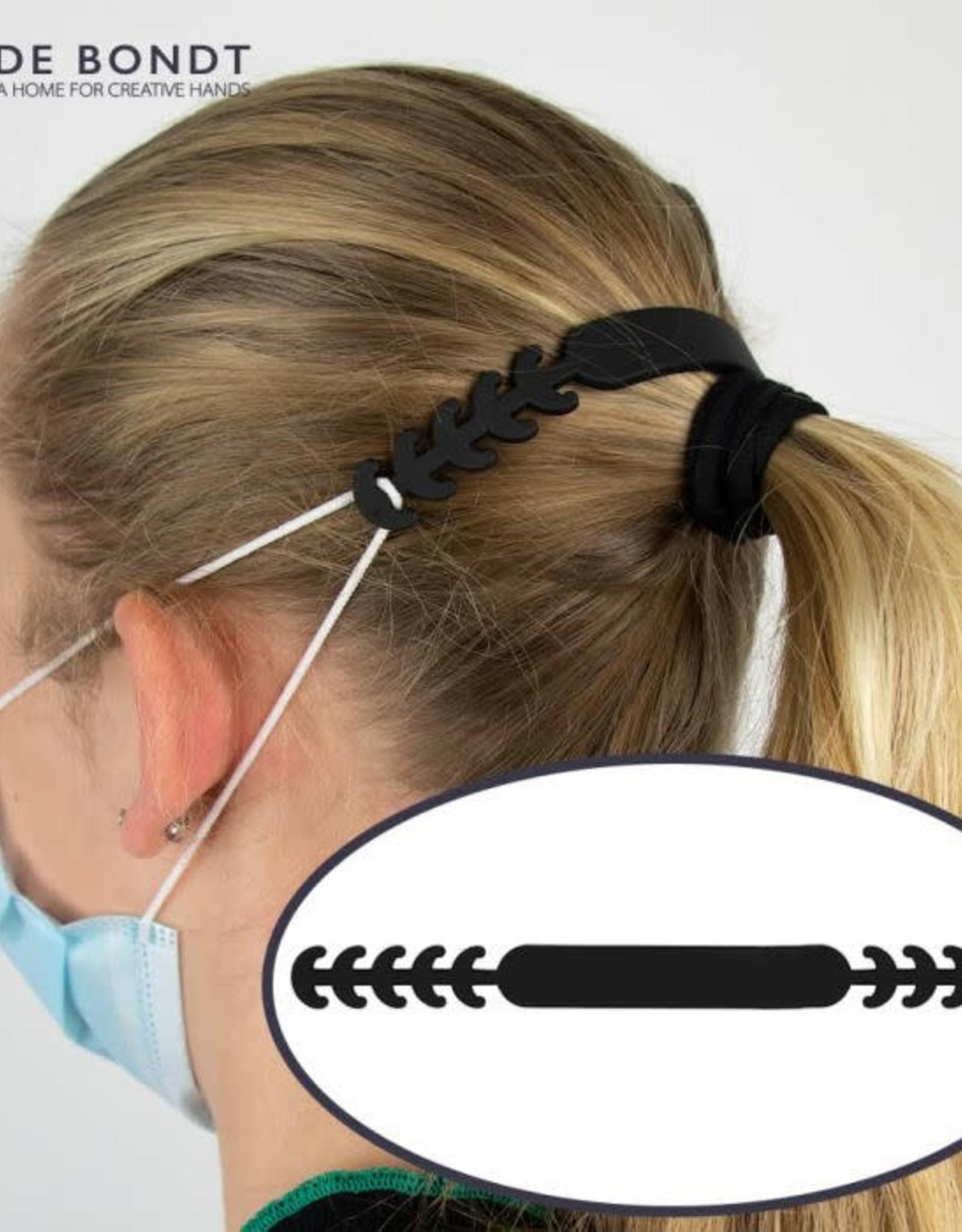 Siliconen oorbeschermers mondmasker roze
