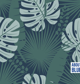 About Blue About Blue Viscose Crazy plant lady - green