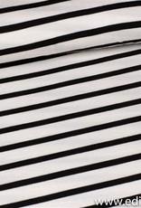 Fibre Mood viscose zwart - wit streep cory
