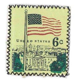 Applicatie postzegel