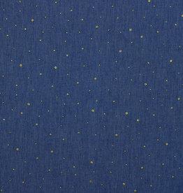 Poppy Poppy jeans Dot (gouden glitter bolletjes)