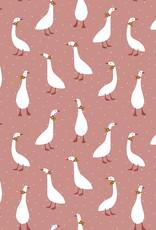Poppy Poppy Jersey Cute Goose GOTS