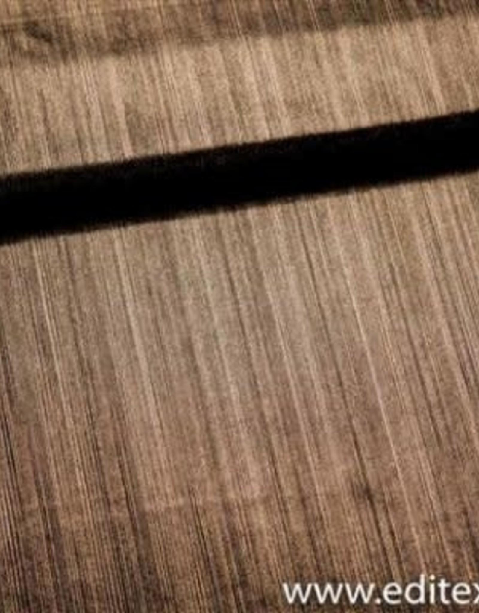 Fibre Mood fibre mood polyester, glanzend, gouden/bronzen  stofje