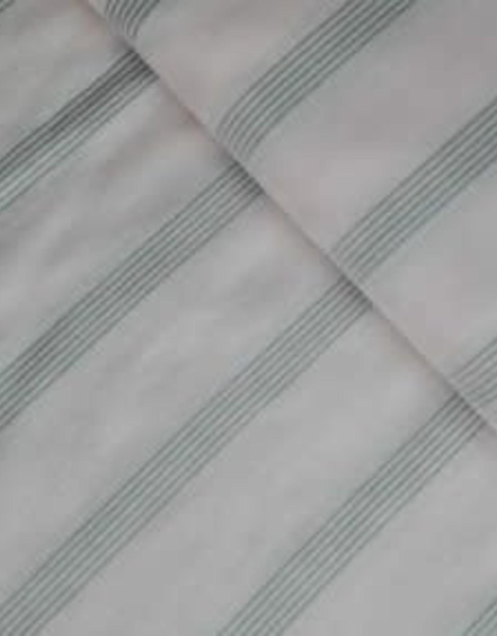Fibre Mood Fibre Mood  katoen/viscose streep beige-lichtroze