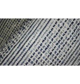 Editex Fabrics Editex Sweater donkerblauw-beige-goud