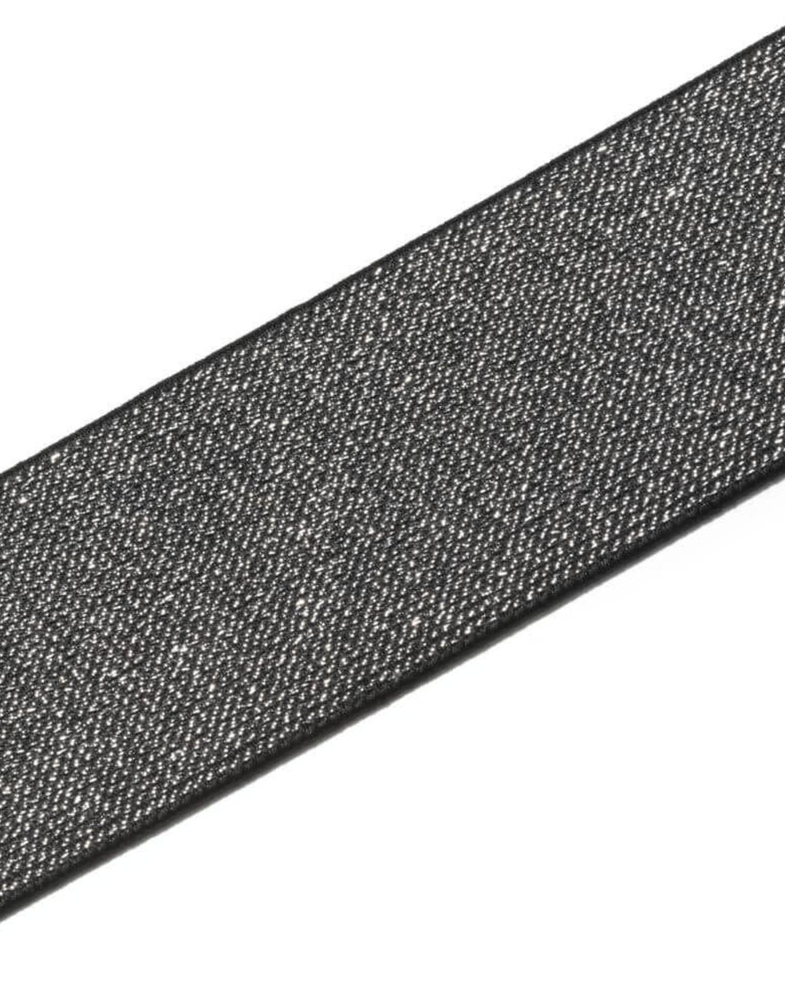 Prym Prym ELASTIEK COLOR ZWART-ZILVER 50mm