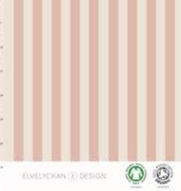 Elvelyckan Elvelyckan jersey verticale roze /ecru strepen