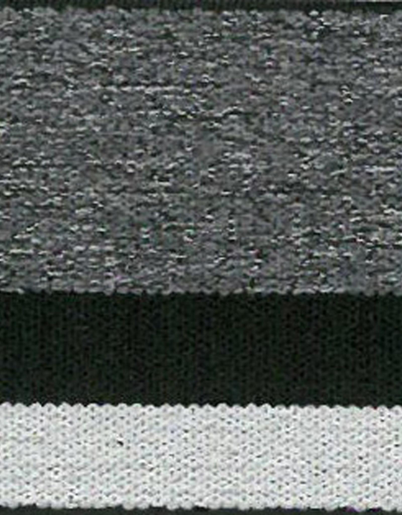 Elastiek Boxer 4cm lichtgrijs /zwart/donkergrijs
