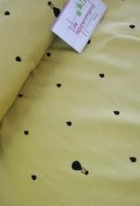 Onnolulu jersey raindrops geel