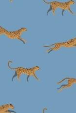 Polytex Polytex Ilja jersey luipaard blauw