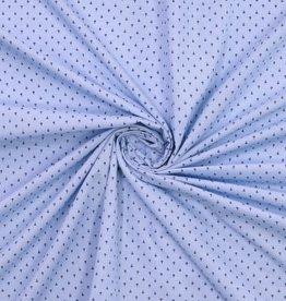 Polytex Polytex katoen blauw vraagteken