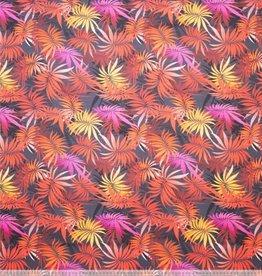 Polytex Polytex Katoen elastisch colored leaves