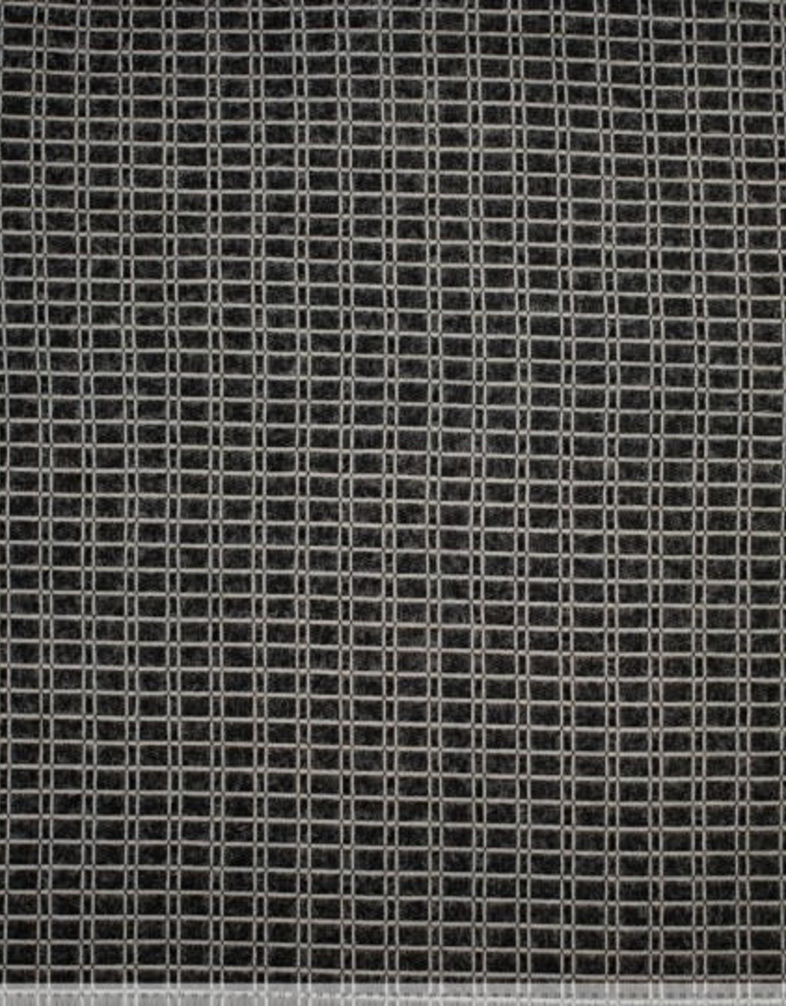 Polytex Polytex knit blocks hairy zwart / wit