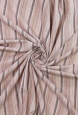 Polytex Polytex Linnen/katoen gestreepte kleuren