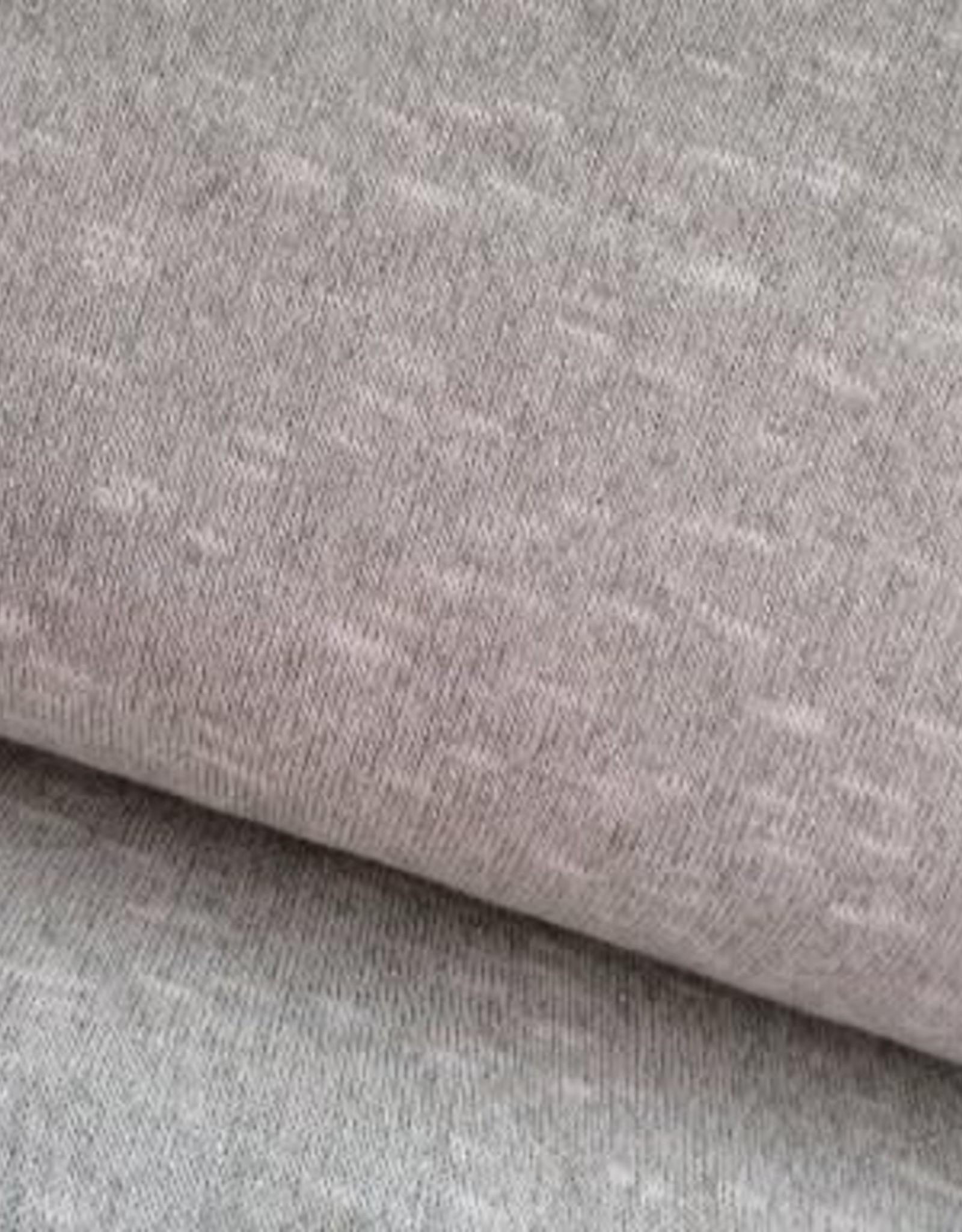 Polytex Polytex plain chique glitter grijs/zilver