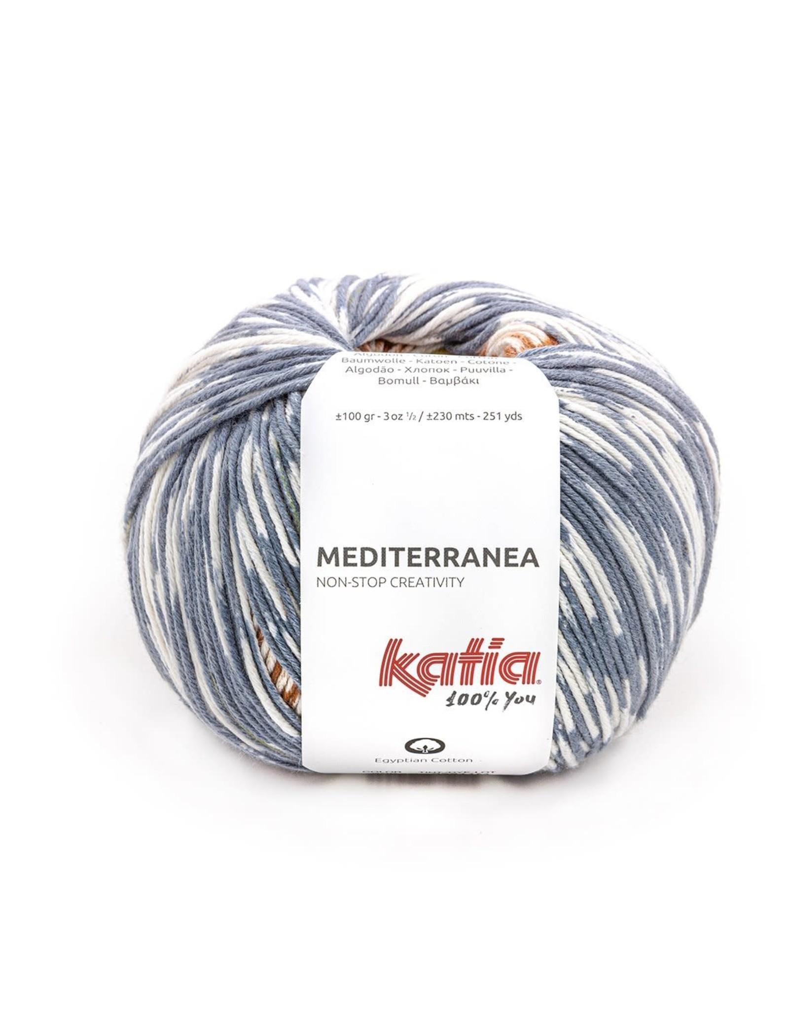 Katia Katia  Mediterranea 305 - Jeans-Roestbruin-Oker
